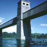 Pont y Rheilffordd - Tiwb Robert Stephenson