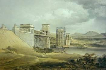 Y Pont Britannia yn ystod yr adeiladu