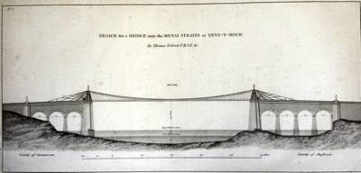 Plans of the Menai Bridge