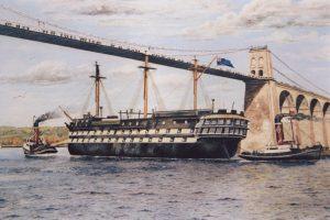 HMS Conway, gan Alastair Laing