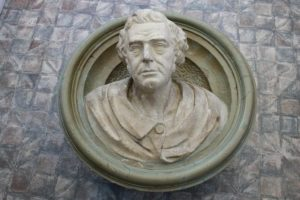 Robert Stephenson bust